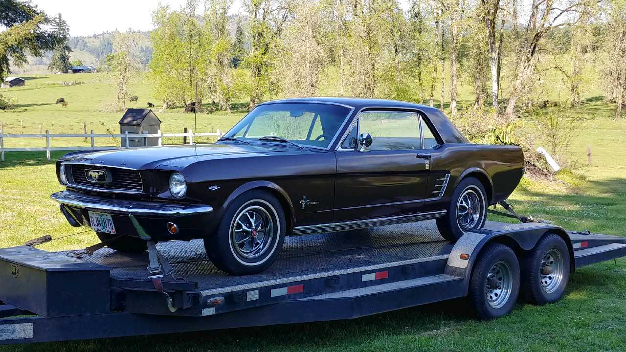 Ford Mustang shipping